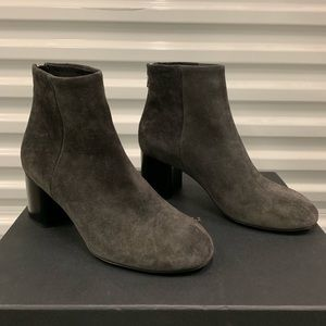 Rag and bone: Asphalt Wesley Suede Ankle Boots